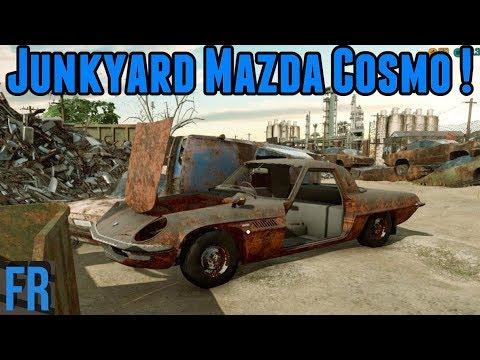 Car Mechanic Simulator 2018 - Junkyard Mazda Cosmo!