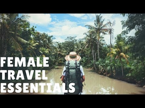 FEMALE TRAVEL ESSENTIALS HAUL | sheentheexplorer