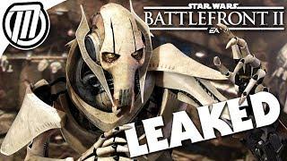 Star Wars Battlefront 2 General Grievous LEAKED Gameplay Details + 2018 DLC Speculation