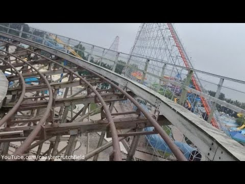 Gemini Front Row HD POV Blue Side Cedar Point