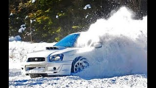 Download SUBARU WRX STI - SNOW Driving & Drifting Mp3 and Videos