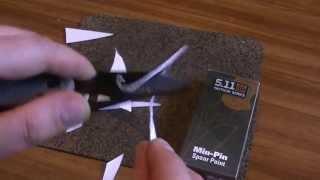 Нож 5,11 Min- Pin Проверка на рез