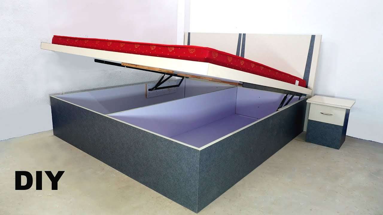 How to Make Hydraulic Bed / DIY Box Bed