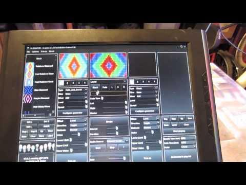 How To WS2801 Pixel Wall + Teensy 3.0 + Glediator/Jinx