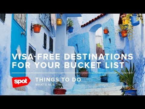 Visa-Free Destinations for Your Bucket List