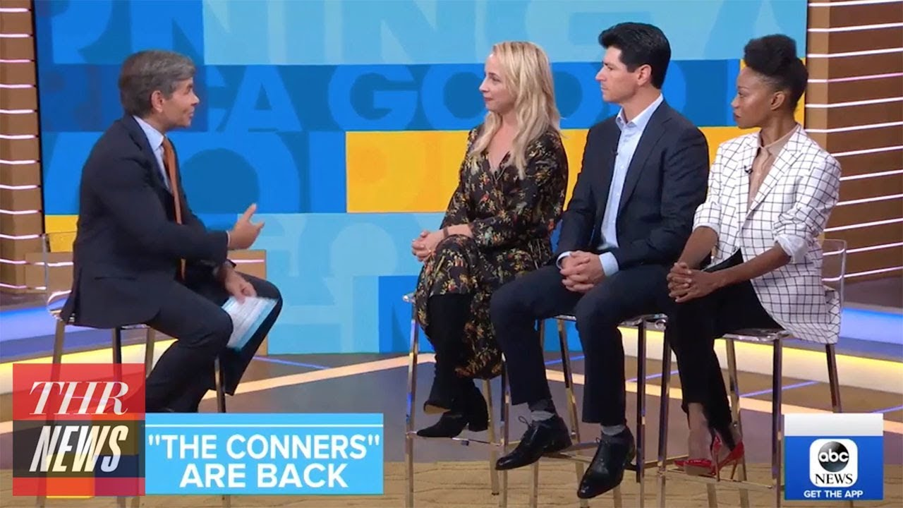 'The Conners' Stars React to Roseanne Barr's Premiere Reaction on 'Good Morning America' | THR News