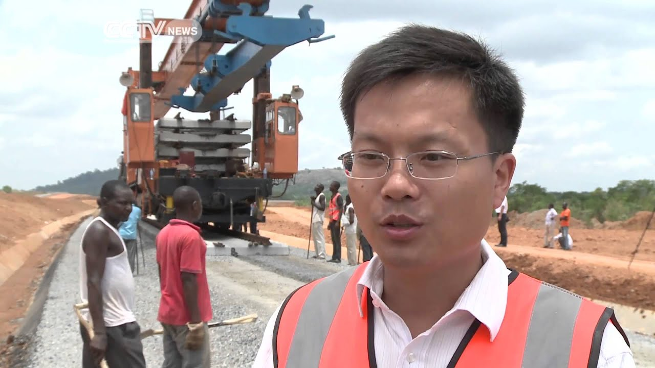 Chinese Funded Railway Nears Completion in Nigeria - YouTube