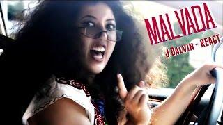 J Balvin Malvada-Reacción (Mamá Mexicana Parodia)