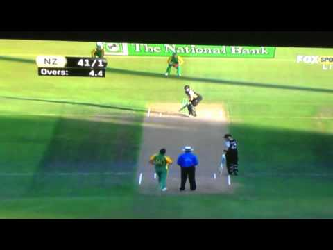 Marchant de Lange 152km/h @BowlingSpeeds On Twitter. 2nd ball for RSA