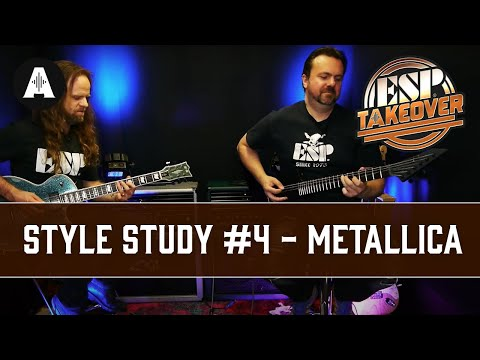 Style Study #4 - Metallica | ESP Social Takeover Weekend