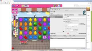 Usando Cheat Engine 6.2 con google chrome, internet explorer y mozilla firefox candy crush