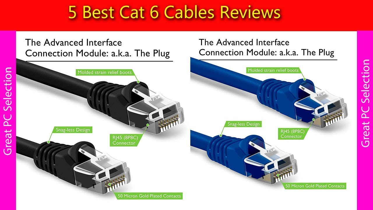 Cat6 Cable // Cat 6 Cable Cable Matters Snagless Cat6 Ethernet Cable in White 50 Feet Availble 1FT 150FT in Length