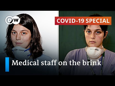 Frontline healthcare workers increasingly suffer from stress and exhaustion   COVID19 Special
