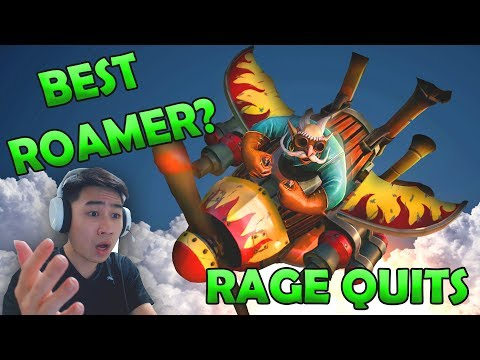BEST ROAMING HERO IN DOTA 2 IS GYROCOPTER 7.07c - Red Panda Dota Gameplay