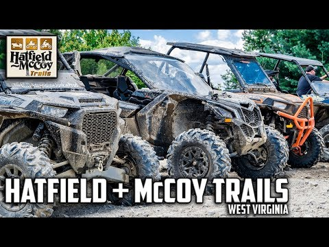 West Virginia SXS Trail Riding Teaser - Hatfield & McCoy Trail System WV