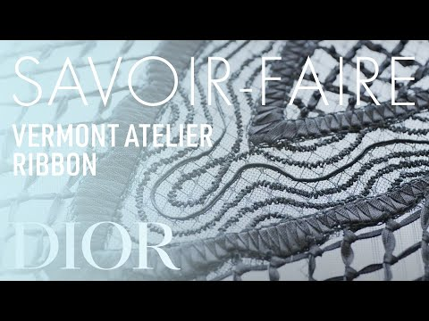 Savoir-faire from the Vermont Atelier for the Dior Autumn-Winter 2019-2020 Haute Couture collection