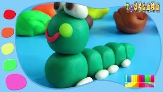 Making Play Doh Toys For Kids | Colors Clay Toys For Children | Video For Kid #04