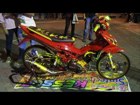 Modification Yamaha Jupiter Mx Cat Merah Youtube