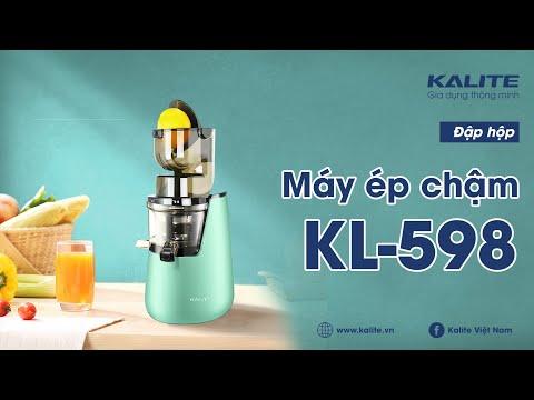 Máy Ép Chậm Kalite KL 598 -Tặng cân sức khỏe KL-150 trị giá 350k