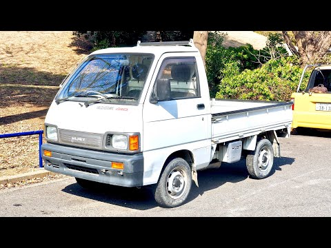 1993 Daihatsu Hijet Climber 4x4 Locking Diff (USA import) Japan Auction Purchase Review