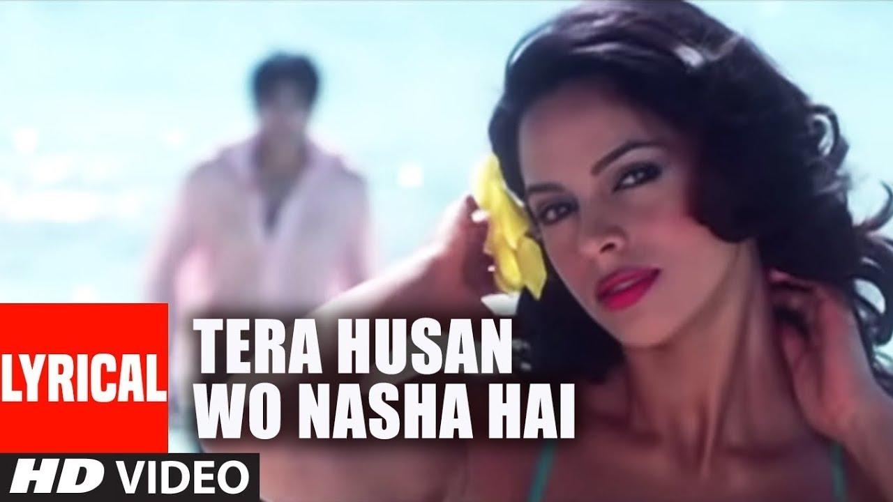 Tera Husan Wo Nasha Hai Lyrical Video Song | Bachke Rehna Re Baba | Mallika Sherawat