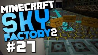 "Minecraft Sky Factory 2 #27 ""Sheep Farm, The Nice Room"" w/ @CaffeineRich"