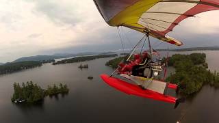 Tam & Jess 2013 -Air Creation Float Trike - Lake Winnipesaukee - New Hampshire