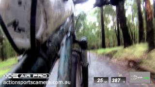 Ion Air Pro - Descent of One Tree Hill down Bellview Terrace - Bike Cam