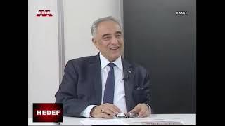 ADYÜ Rektörü Prof.  Dr.  Mehmet TURGUT, Mercan TV' de yayınlanan Hedef Programının Konuğu oldu