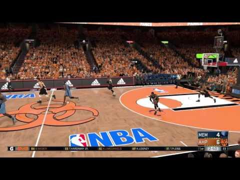 NBA 2K17 - MyLeague #36 || Anaheim Panics - Memphis Grizlies