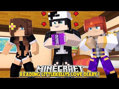 READING LITTLE KELLYS DIARY!! Minecraft Love Story | w/Raven & Penny | Custom Minecraft Roleplay |