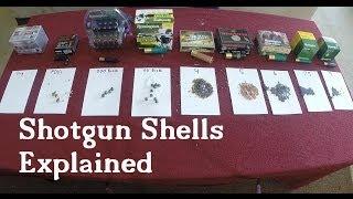 Shotgun Shells Explained