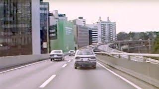 昭和61年の首都高速4号新宿線(車載カメラ)