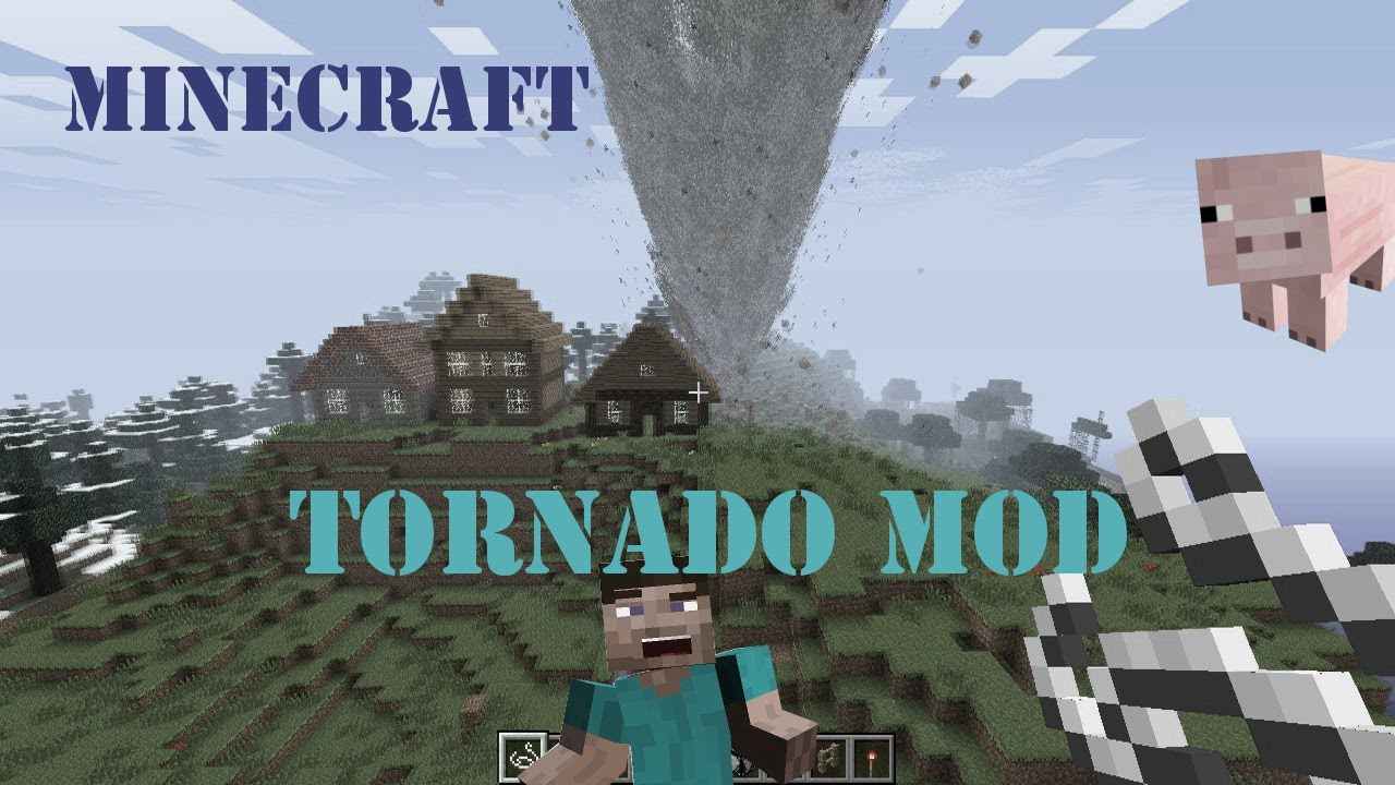 Minecraft tornado mod vorstellung 1. 8 youtube.