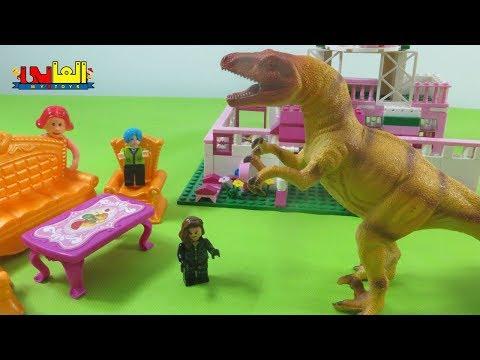 لعبة كريم يقابل الديناصور الحقيقي للاطفال العاب حديقة الديناصورات للأولاد والبنات