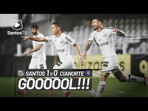 SANTOS 1 X 0 CIANORTE | GOL | COPA DO BRASIL (08/06/21)