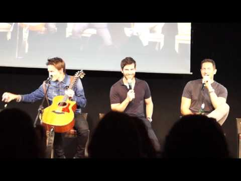 JIBWeek 2017 - JIBLand 2 - Wed, 17th - Part 3 - Sasha Roiz, Reeve Carney, David Giuntoli