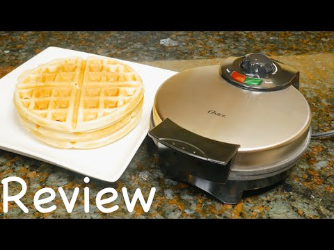 Oster CKSTWF2000 Belgian Waffle Maker Review