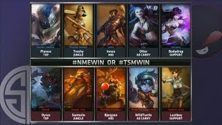 NME vs TSM Game 2 Highlights - ENEMY ESPORTS vs TEAM SOLOMID - Week 9 NA LCS SUMMER 2015