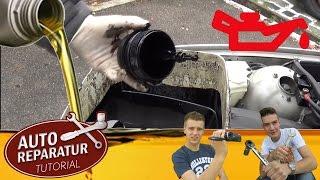 ÖLWECHSEL | selber machen | ANLEITUNG | [Tutorial] HD car oil change selfmade