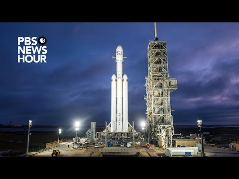 WATCH: SpaceX launches the Falcon Heavy, the rocket that could go to Mars