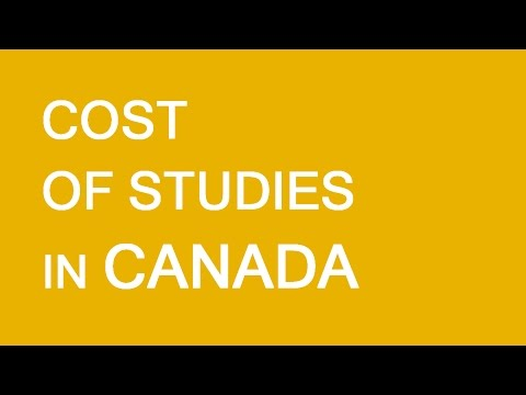Cost of study in Canada. LP Group