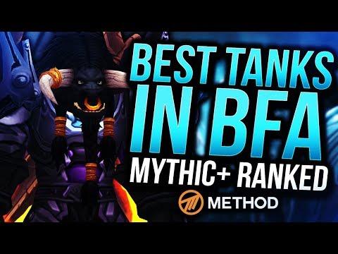 TANKS RANKED BATTLE FOR AZEROTH | BEST MYTHIC+ TANK IN BFA | Method Sco
