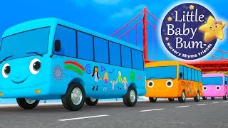 Little Baby Bum | Ten Little Buses Part 4 | Nursery Rhymes for Babies | Songs for Kids