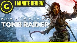 Rise of the Tomb Raider - 1 Minute Review