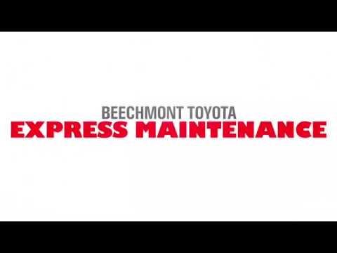 Beechmont Toyota Express Maintenance Youtube