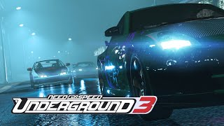 Need For Speed Underground 3 2019 (Fan Made) Trailer PS4, XBOX ONE, PC [4K]