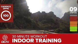 30 Minute Workout - Indoor Cycling Hill Climb Training