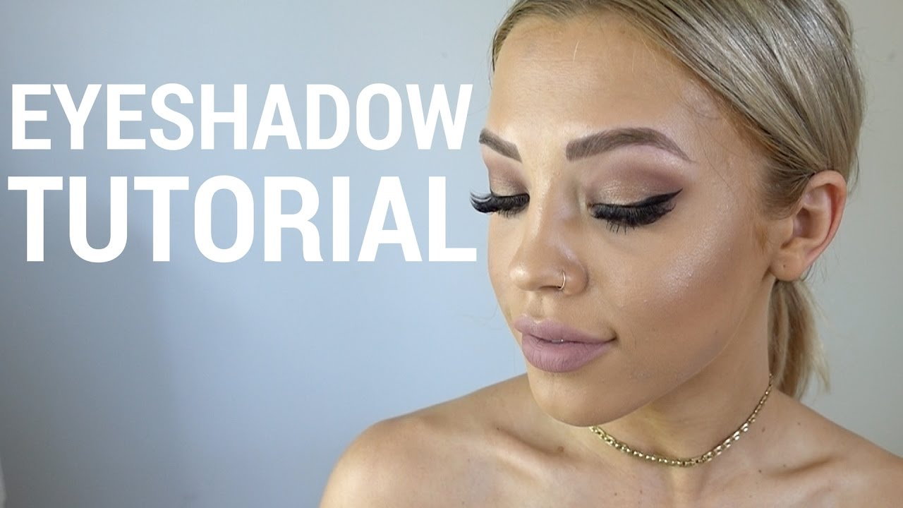 Simple Smoky Brown Gold Eyeshadow Tammy Hembrow Youtube