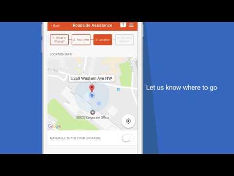 Emergency Road Service - GEICO Mobile App